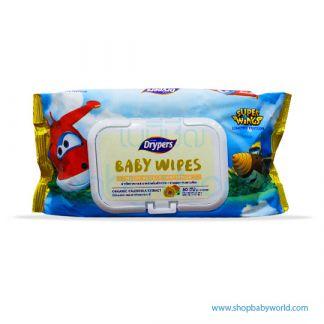 Drypers Baby Wipe 80's HRI(24)