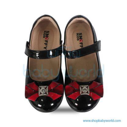 Snoffy Autum Leather Shoes AAQK17821 Black 28(1)