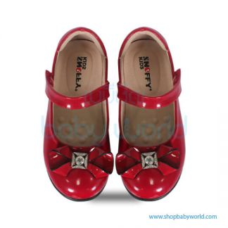 Snoffy Autum Leather Shoes AAQK17821 Red 28(1)