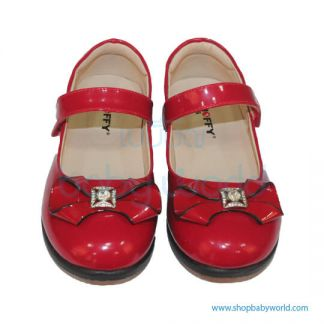 Snoffy Autum Leather Shoes AAQK17821 Red 30(1)