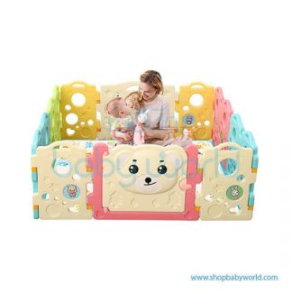 Aole Running Bear Playpen 12+2 AL-W160309004
