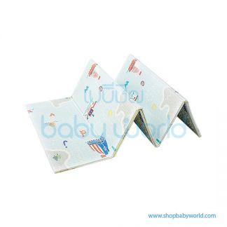 Aole Nautical journey + exotic animal folding play mat 197*177*1CM AL1918042202(1)
