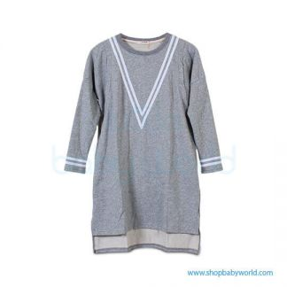 Bearsland dark gray dres BA443(1)