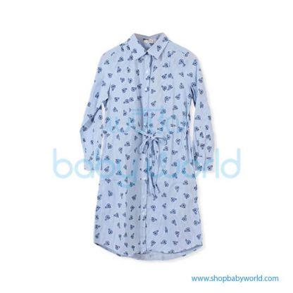 Bearsland pinstripe dress BA565 L(1)