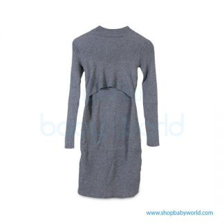Bearsland Navy chunky dress BA630(1)