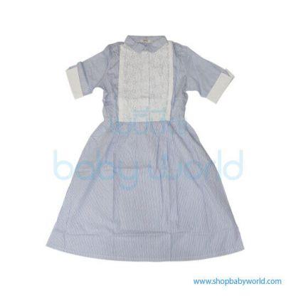 Bearsland pinstripe dress BB033 M(1)