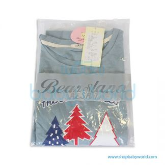 Bearsland print dress BB100 L(1)