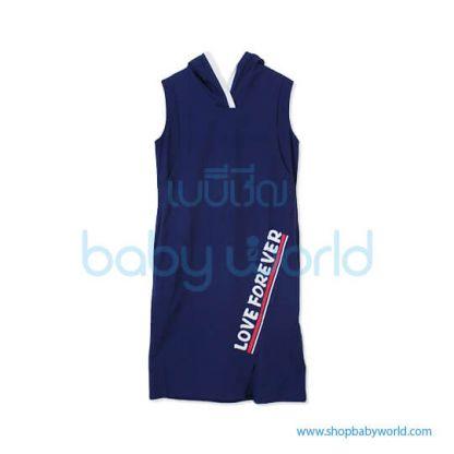 Bearsland navy dress BC036 M(1)