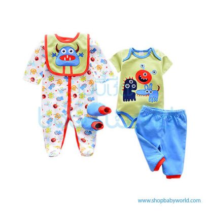 Little Inventor baby clothes set 5-piece BF01-00007(1)