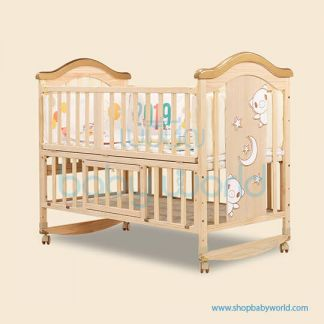 Craft Baby Wooden Crib BLO-716A (124*68*105)