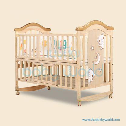 Craft Baby Wooden Crib BLO-716A (124*68*105)
