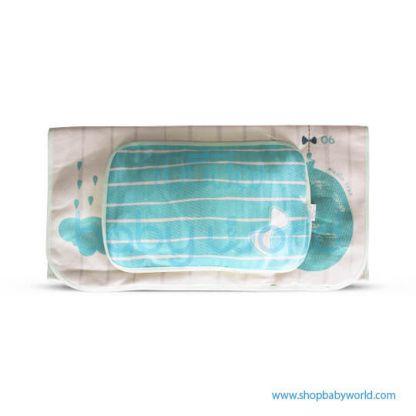 Muslin Tree Cuddle Towel - Big Elephants 85*85(1)