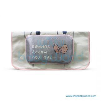 Muslin Tree Newborn Zipped Cuddle Towel - Fox 100*100(1)