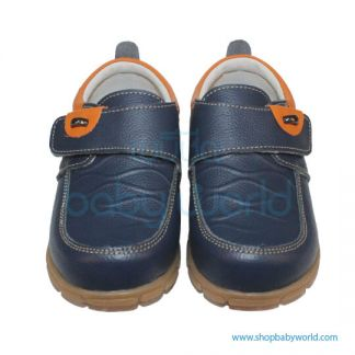 Snoffy Autumn Leather Shoes CBBB16803 Blue 25(1)