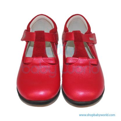 Snoffy Autumn Leather Shoes CABB 16808 Red 25(1)
