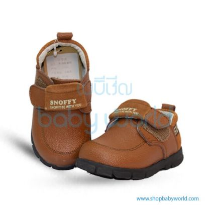 Snoffy Autumn Leather Shoes CBBB17856 Brown 22(1)