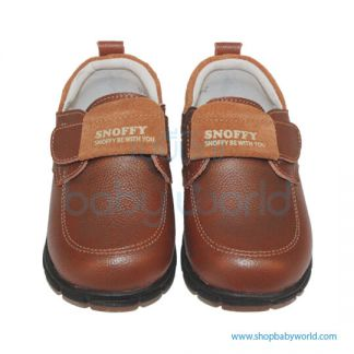 Snoffy Autumn Leather Shoes CBBB17856 Brown 25(1)