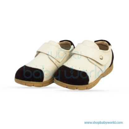 Snoffy Spring Leather Shoes CBBB18608 Creamy Brown 23(1)