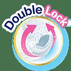 Double lock leg edge