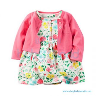 Baby Girl Dress 2pcs Set H05(1)