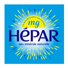 HEPAR natural mineral water 1L (6)(CTN)