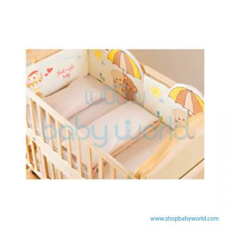 Craft Baby Bedding Set for Wooden Crib LBBS-12 (100*56)