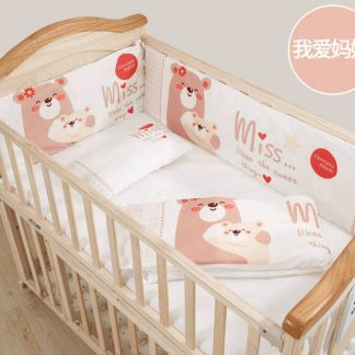 Craft Baby Bedding Set for Wooden Crib LBBS-13 (100*56)