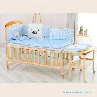 Craft Baby Bedding Set for Wooden Crib LBBS-17 (100*56)