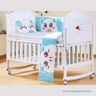 Craft Baby Bedding Set for Wooden Crib LBBS-18 (100*56)