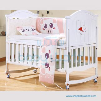 Craft Baby Bedding Set for Wooden Crib LBBS-19 (100*56)