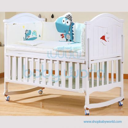 Craft Baby Bedding Set for Wooden Crib LBBS-21 (100*56)