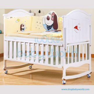 Craft Baby Bedding Set for Wooden Crib LBBS-22 (100*56)