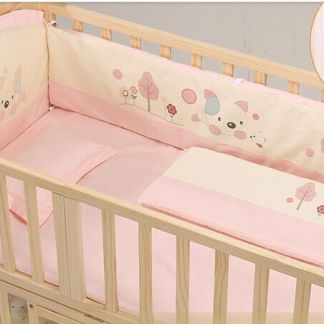 Craft Baby Bedding Set for Wooden Crib LBBS-3 (100*56)