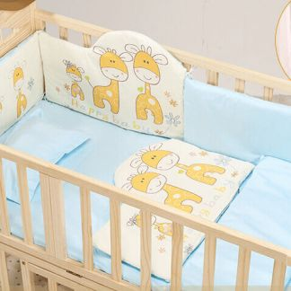 Craft Baby Bedding Set for Wooden Crib LBBS-4 (100*56)