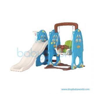 Monle Blue Rabbit Slide Swing 3-in-1 ML-1809702(1)