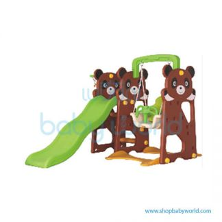 Monle Bonny Bear Slide-Swing 3-in-1 ML-1810107(1)