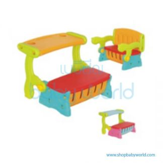 (H) Monle Dual-purpose Chair & Table ML-1810307(1)