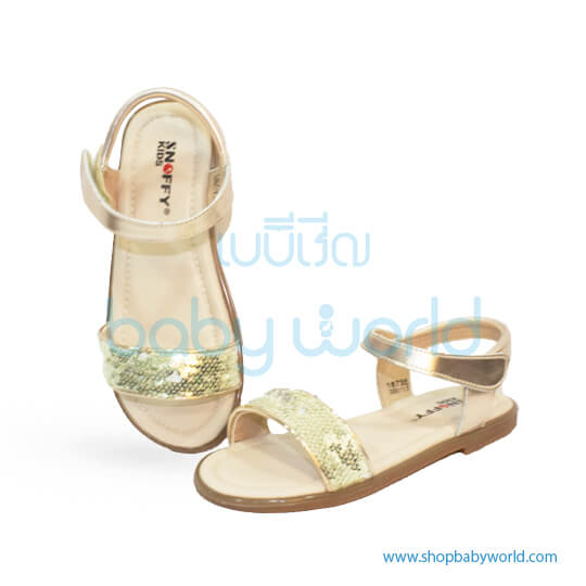 Snoffy Summer Shoes NALZ18735 Silver 28(1)