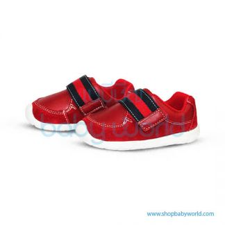 Snoffy First Step Shoes 18828 Red 17(1)