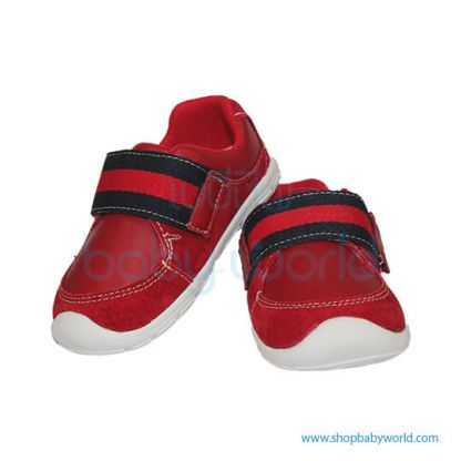 Snoffy First Step Shoes 18828 Red 20(1)