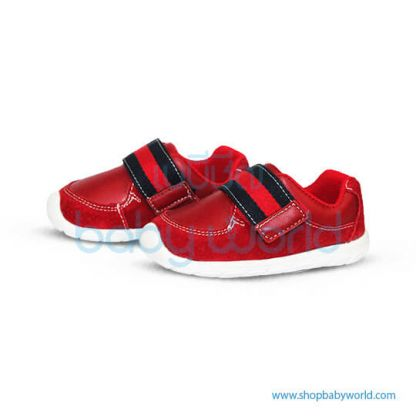 Snoffy First Step Shoes 18828 Red 21(1)