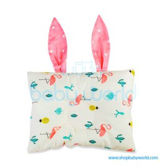 (H) Muslin Tree Ear Pillow - Flamingo(1)
