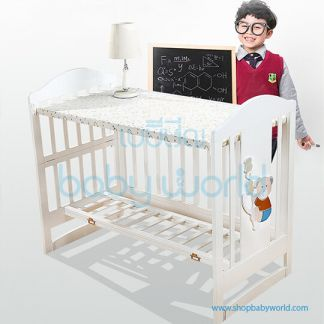 Craft Baby Wooden Crib WBB210B (115*61*98)