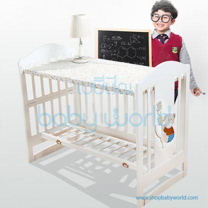 Craft Baby Wooden Crib WBB210B (115*61*98)