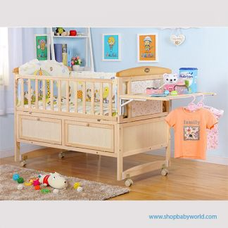 Craft Baby Wooden Crib XBD-116 (114.5*68*90)