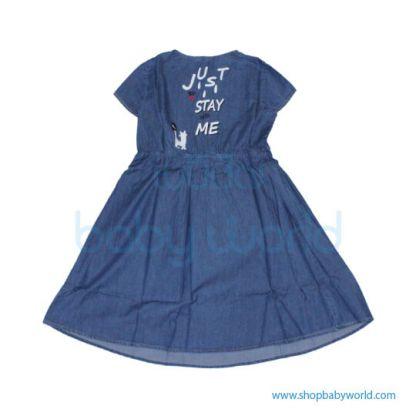 Love in Color Short sleeved dressYDQ212865(1)