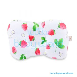 (H) Muslin Tree Baby Pillow - Strawberry(1)