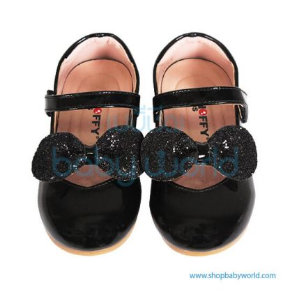 Snoffy Spring Leather Shoes AAQK18615 Black 26(1)