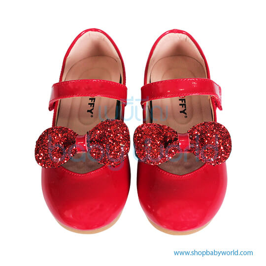 Snoffy Spring Leather Shoes AAQK18615 Red 26(1)