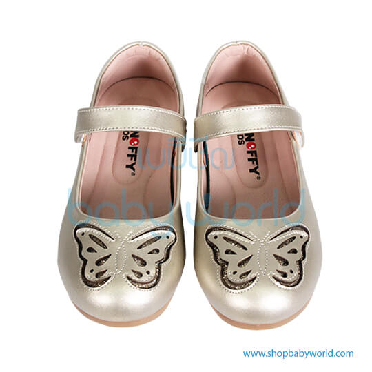 Snoffy Spring Leather Shoes AAQK18615 Gold 30(1)